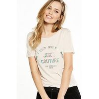 Juicy by Juicy Couture All I Ever Juicy Graphic T-shirt - Rain Shadow, Rain Shadow, Size S, Women