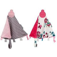 CHEEKY CHOMPERS Comfortchew - Polka Dot Pink and Anna Floral, One Colour