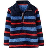 Joules Boys Woozle Fleece, Multi Stripe, Size 2 Years, Women