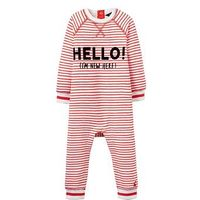 Joules Boys Ernie Sweater Babygrow, Stripe, Size 3-6 Months