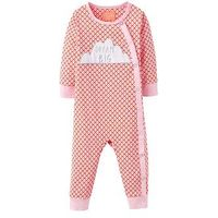 Joules Girls Dream Big Applique Babygrow, Red, Size 0-3 Months