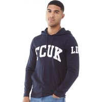 French Connection Mens FCUK LDN Hoody Marine