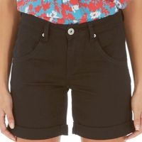 Onfire Womens Shorts Black