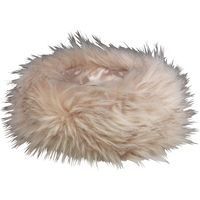Onfire Womens Faux Fur Headband Brown