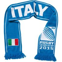 Rugby World Cup Italia Scarf Italy Blue