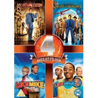 Night at the Museum / Night at the Museum 2 / Like Mike / Like Mike 2: Streetball