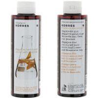 KORRES Shampoo Sunflower and Mountain Tea For Coloured Hair (250ml)