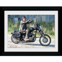 The Walking Dead Daryl Bike - 30 x 40cm Collector Print