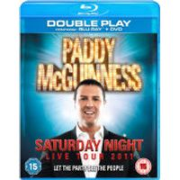 Paddy McGuinness: Saturday Night Live Tour 2011 - Double Play (Blu-Ray and DVD)