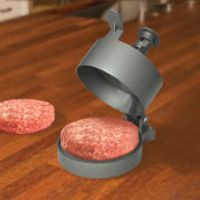 Man Burger Press - Metallic Grey