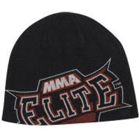 MMA Elite Mens Slide Beanie - Black - One size