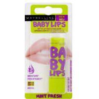 Maybelline Baby Lips Lip Balm - Mint Fresh