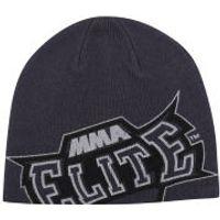 MMA Elite Mens Slide Beanie - Grey - One Size