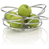 Black+Blum Loop Fruit Bowl - Chrome