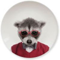 Wild Dining Baby Raccoon - Ceramic Side Plate