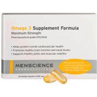 Menscience Omega 3 Supplements 60 caps