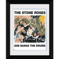 The Stone Roses She Bangs The Drums - 8 x 6 Framed Photographic