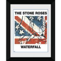 The Stone Roses Waterfall - 8 x 6 Framed Photographic