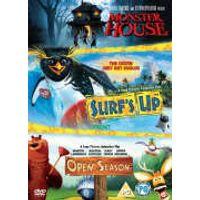 Surfs Up/Monster House/Open Season