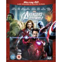 Marvel Avengers Assemble 3D (Includes 2D Version)