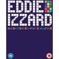 Eddie Izzard - Sexie / Force Majeure / Eddie Izzard Live - Stripped