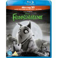Frankenweenie 3D (Includes 2D Blu-Ray)