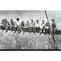 New York Men on Girder - Maxi Poster - 61 x 91.5cm