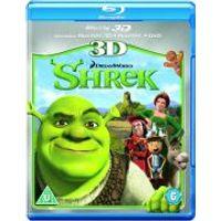 Shrek 3D (3D Blu-Ray, 2D Blu-Ray and DVD)