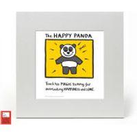 Edward Monkton Fine Art Print - Happy Panda