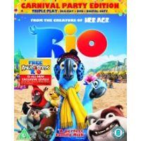 Rio - Triple Play (Includes DVD, Blu-Ray and Digital Copy)