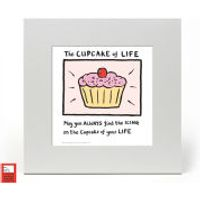 Edward Monkton Fine Art Print - Cupcake of Life