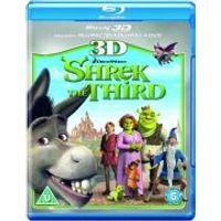 Shrek the Third 3D (3D Blu-Ray, 2D Blu-Ray and DVD)