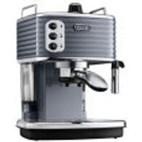 DeLonghi Scultura Espresso Coffee Machine - Gun Metal High Gloss