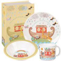 Little Rhymes Noahs Ark 3 Piece Melamine Breakfast Set - Multi
