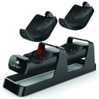 PS4 Dual Charging Stand & Battery Pack - Black