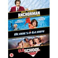 Will Ferrell Triple - Blades Of Glory/Old School/Anchorman