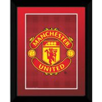 Manchester United Club Crest - 8 x 6 Framed Photographic
