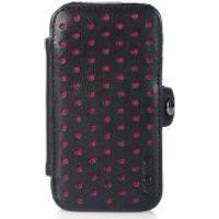 Knomo: Fuchsia Perforated iPhone 4 Folio Case