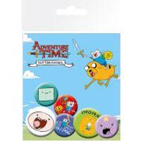 Adventure Time Finn - Badge Pack