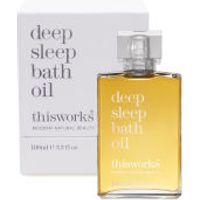 this works Deep Sleep Bath Oil (100ml)