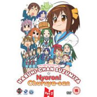 The Melancholy of Haruhi-Chan Suzumiya and Nyoron! Churuya-san Collection 1