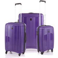 Redland 3 Piece Luggage Set - Purple