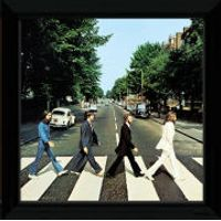 The Beatles Abbey Road - 12 x 12 Framed Album Prints