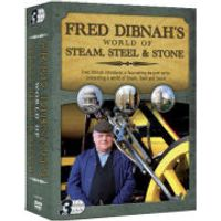 Fred Dibnahs World of Steam, Steel and Stone - Triple Pack