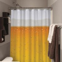 Beer OClock Beer Shower Curtain