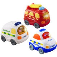 Vtech Toot-Toot Drivers - Set 2. Ambulance Fire Engine Police Car