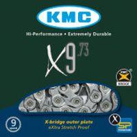 KMC X9-73 Chain - 116 Links - Grey