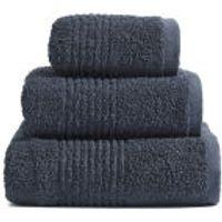 Highams 100% Egyptian Cotton 3 Piece Towel Bale (550gsm) - Charcoal