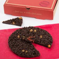 The Gourmet Chocolate Pizza Company Chilli Chocolate 7 Inch Pizza