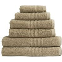 Highams 100% Egyptian Cotton 6 Piece Towel Bale (550gsm) - Latte